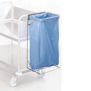 Hupfer RVS afvalzakhouder voor serveerwagen - 0114802