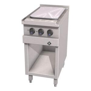 MKN Optima 700 elektrische kooktafel met grootkookveld en 2 kookzones - 2123504