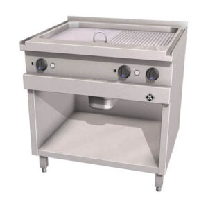 MKN Optima 700 bak/grillplaat 2 SUPRA glad/geribbeld - 2121131