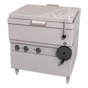 MKN Optima 700 kantelbare braadslede 2/1 GN (59 liter) handbediening - 2121401C