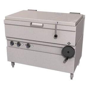 MKN Optima 700 kantelbare braadslede 3/1 GN (85 liter) handbediening - 2121403c