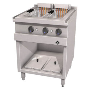 MKN Optima 700 elektrische 2x12,5 liter friteuse London 2 - 2120325-2120325B