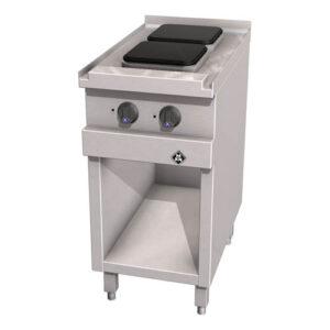 MKN Optima 700 elektrische kooktafel met 2 kookplaten 220x220 mm - 2123201