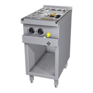 MKN Optima 700 gas kooktafel met 2 branders - 2163401