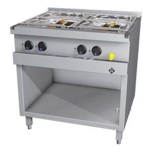 MKN Optima 700 gas kooktafel met 4 branders - 2163402