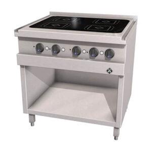 MKN Optima 700 inductie kooktafel met 4 kookzones - 2123103