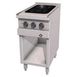 MKN Optima 700 keramische kooktafel met 2 kookzones - 2123401