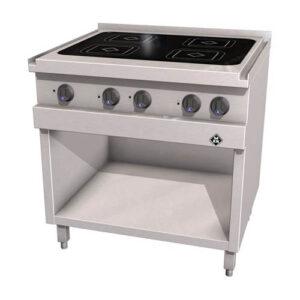 MKN Optima 700 keramische kooktafel met 4 kookzones - 2123402