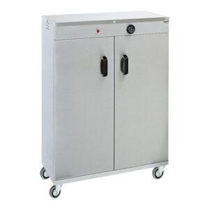 Verrijdbare RVS bordenwarmkast voor 120 borden - 710062