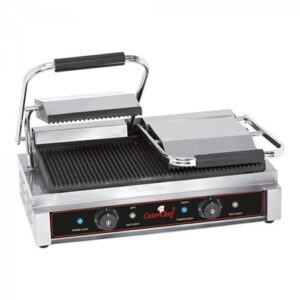 CaterChef contactgrill geribbeld Duetto Compact - 688415