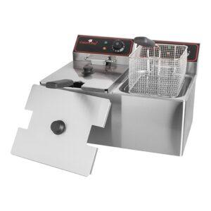CaterChef elektrische friteuse 2x 8 liter - 688208