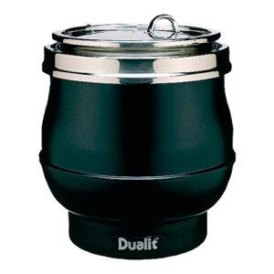 Dualit au bain marie soepketel 11 liter zwart - 310008