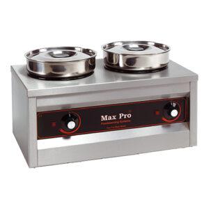Max Pro elektrische hotpot/voedselwarmer 2x4,5L - 921452