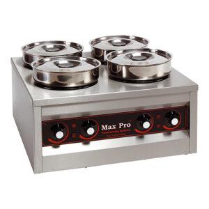 Max Pro elektrische hotpot/voedselwarmer 4x4,5L - 921454