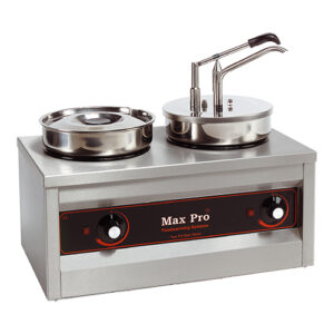 Max Pro elektrische sauzendispenser en hotpot 2x4,5L - 921462