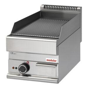 Modular Function 650 elektrische bak/grillplaat geribbeld FU-65 40-FTRE - 316034
