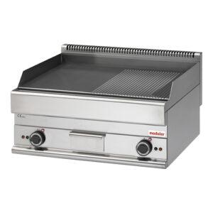 Modular Function 650 elektrische bak/grillplaat glad/geribbeld FU-650-6-70-FTRE - 316038