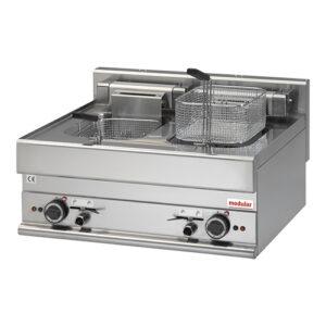 Modular 650 elektrische friteuse 2x10 liter | FU 65/71 FRE - 316044