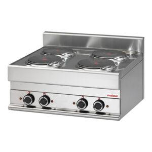 Modular 650 elektrische kookunit met 4 kookplaten | FU 65/70 PCE - 316014