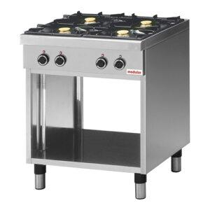 Modular 650 gas kooktafel met 4 branders | FU CEG/70 - 316224