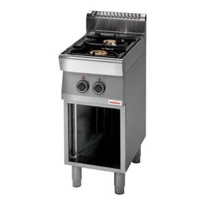 Modular 700 gas kooktafel met 2 branders | FU 70/40 PCG - 316700