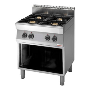 Modular 700 gas kooktafel met 4 branders | FU 70/70 PCG - 316701