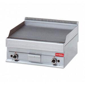 Modular 650 bak/grillplaat 700 mm GAS glad - 316035