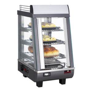 CaterChef warmhoudvitrine 350mm met 3 etages - 688076