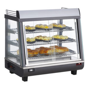 CaterChef warmhoudvitrine 680mm met 3 etages - 688078