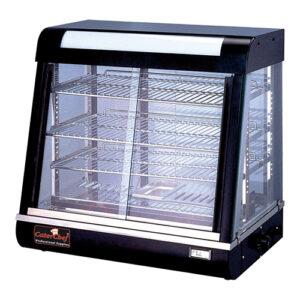 CaterChef warmhoudvitrine zwart - 680070