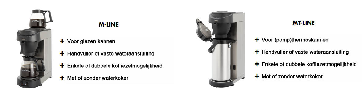 Koffie & theezetapparatuur