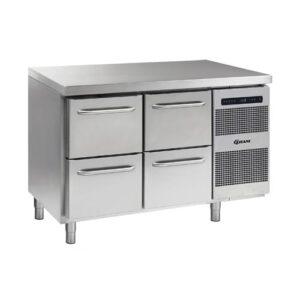 Gram Gastro 07 koelwerkbank K 1407 met 2 ladesecties (2x2 laden) - 861400510
