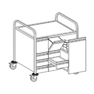 Hupfer kruidenwagen | GW - 0125432