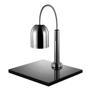 CaterChef warmhoudlamp met plateau chroom - 688260