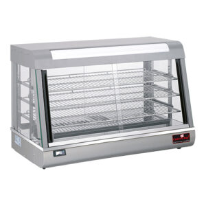 CaterChef warmhoudvitrine 900x480 mm zilver - 680073