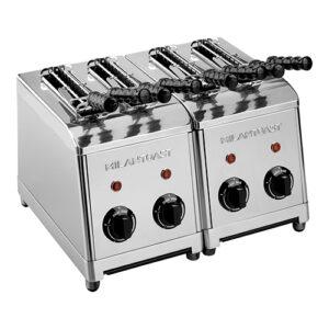 Milan Toast tosti-apparaat 4-tangs RVS - 420004