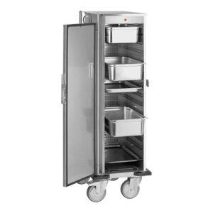 Rocam RVS voedsel transportwagen 16x1/1GN - 710100