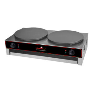 CaterChef elektrische crepes bakplaat 2x3000W - 688084