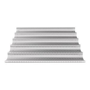 Unox stokbrood rooster 600x400mm aluminium geperforeerd - 596328