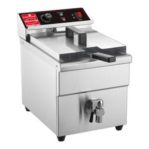 CaterChef inductie friteuse 8L met aftapkraan - 688018