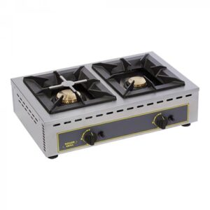 Roller Grill gas kooktoestel met 2 branders - 304151